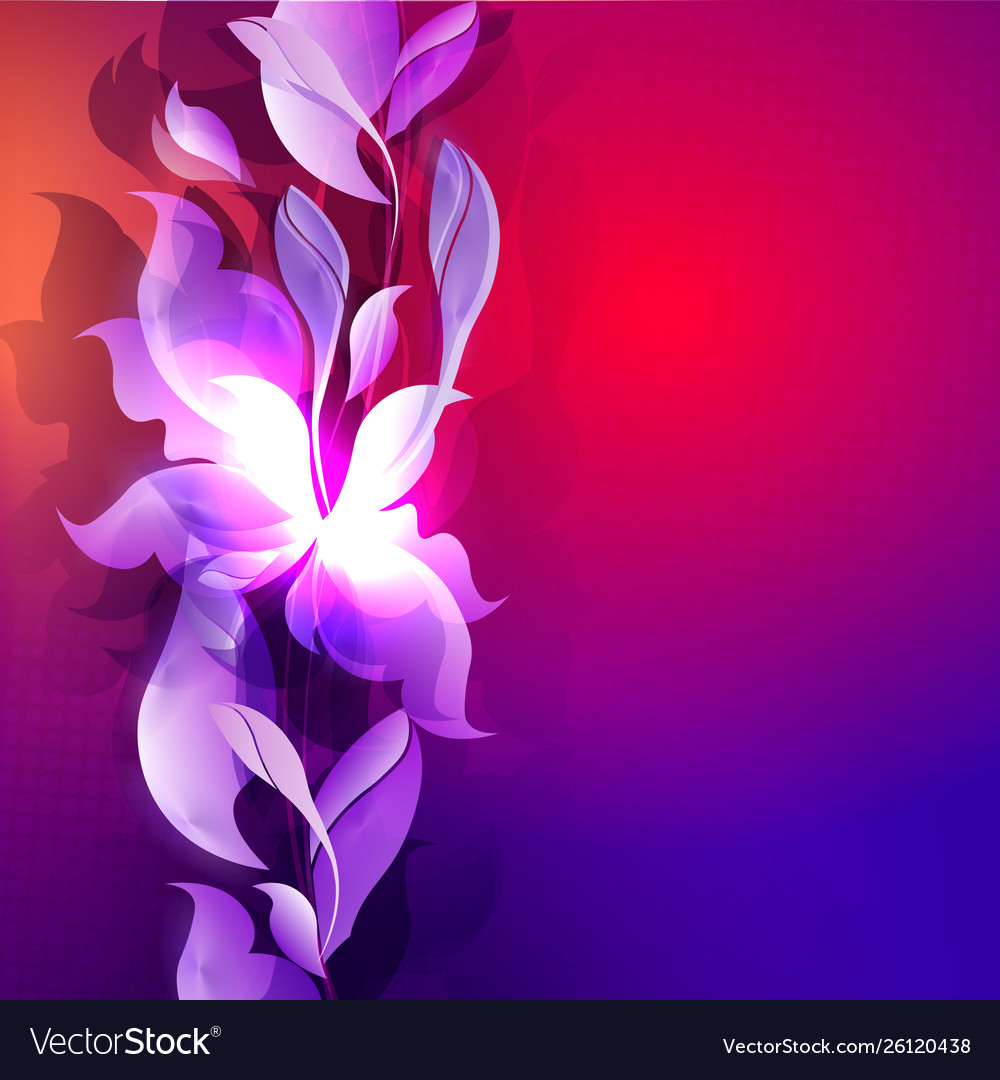 Dark Blue With Red Color Background With Abstract