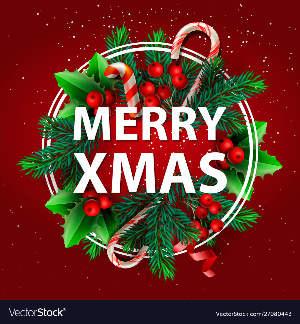 merry xmas sale holiday web Vector Image