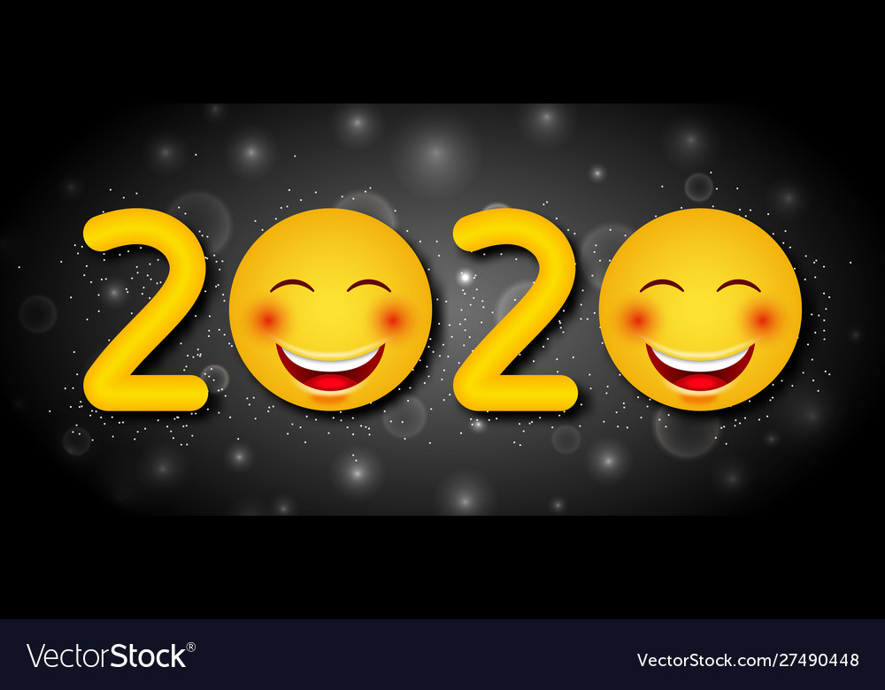 Happy New Year 2020 Funny.Happy New Year 2020 With Funny Emoticons