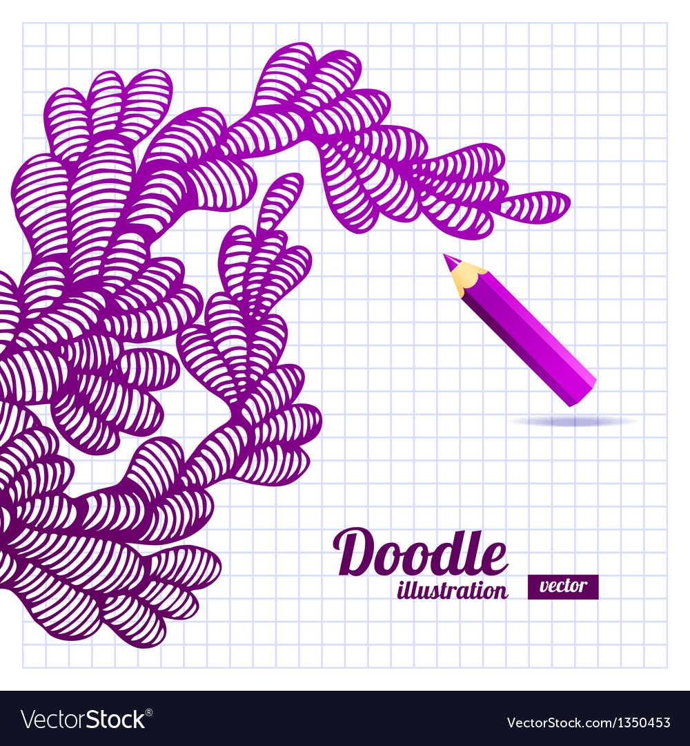 Abstract doodle design