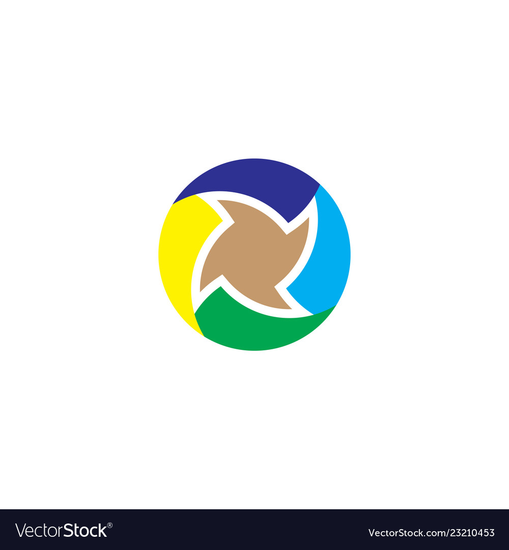 Circle business abstract logo