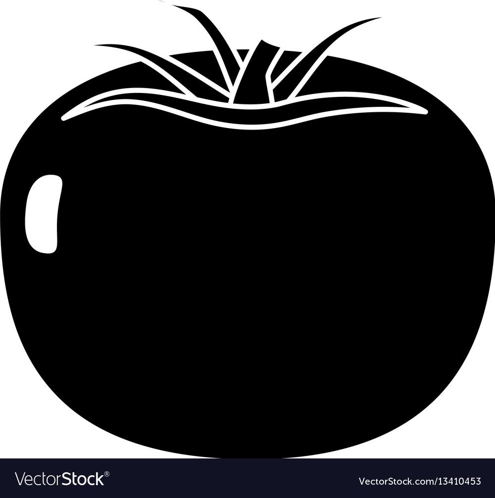 Tomato vegetable healthy pictogram
