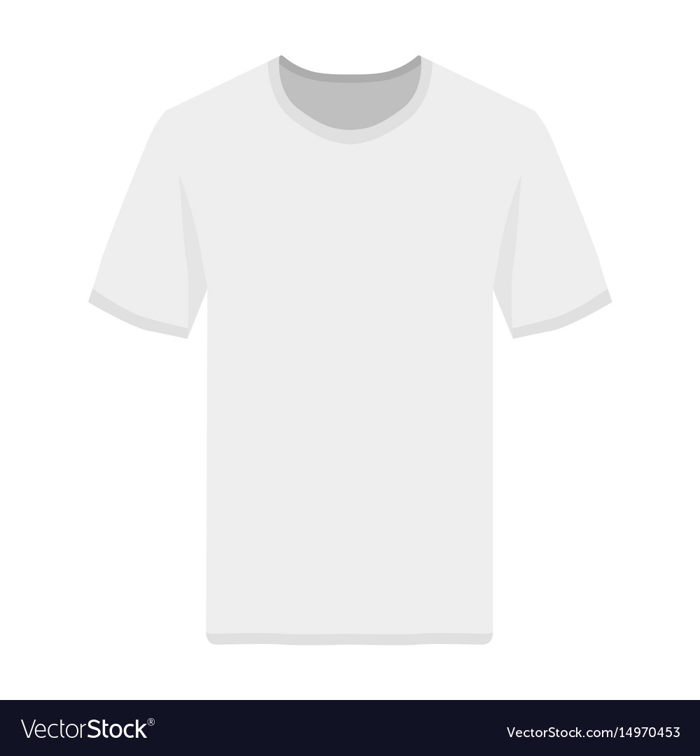 Tshirt front view template