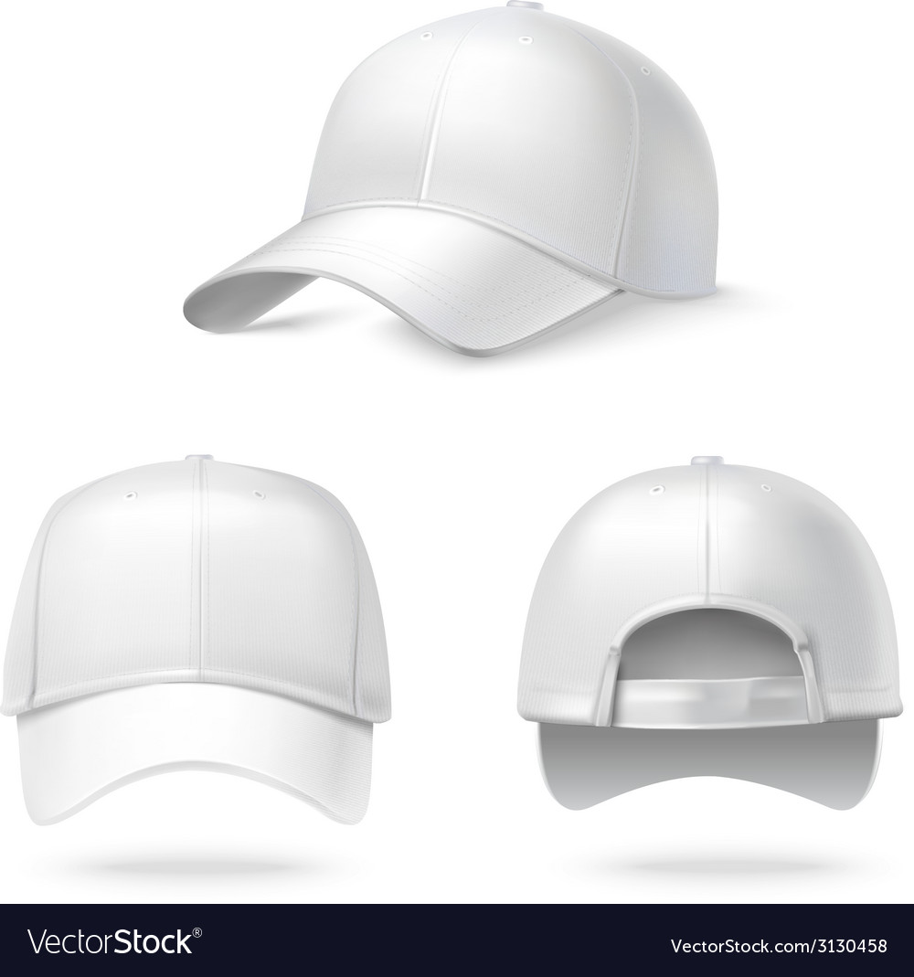46abbcd0 Realistic baseball cap Royalty Free Vector Image