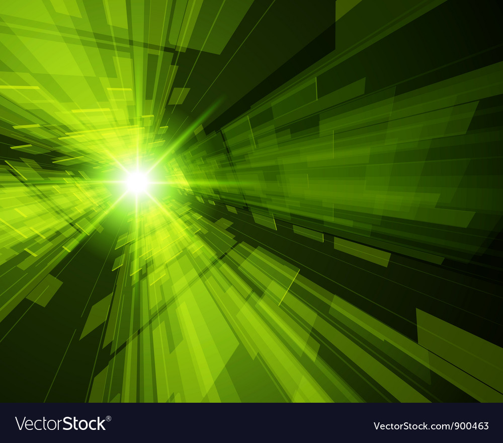 Virtual technology space background