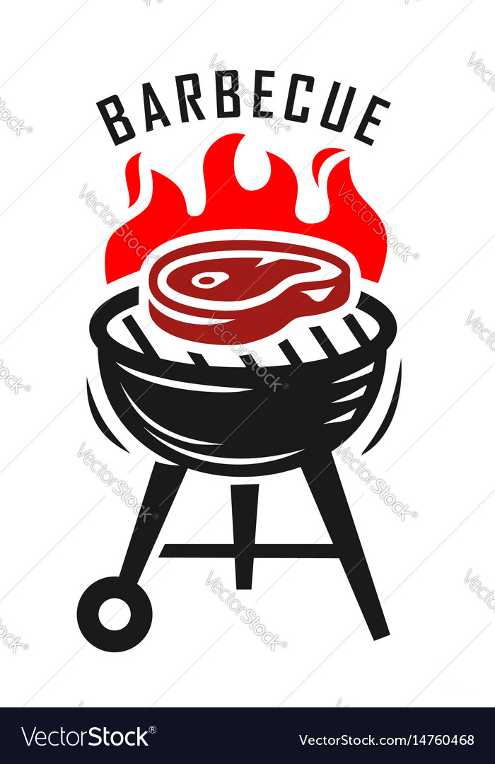 bbq grill royalty free vector image vectorstock rh vectorstock com bbq vector logo bbq vector graphics