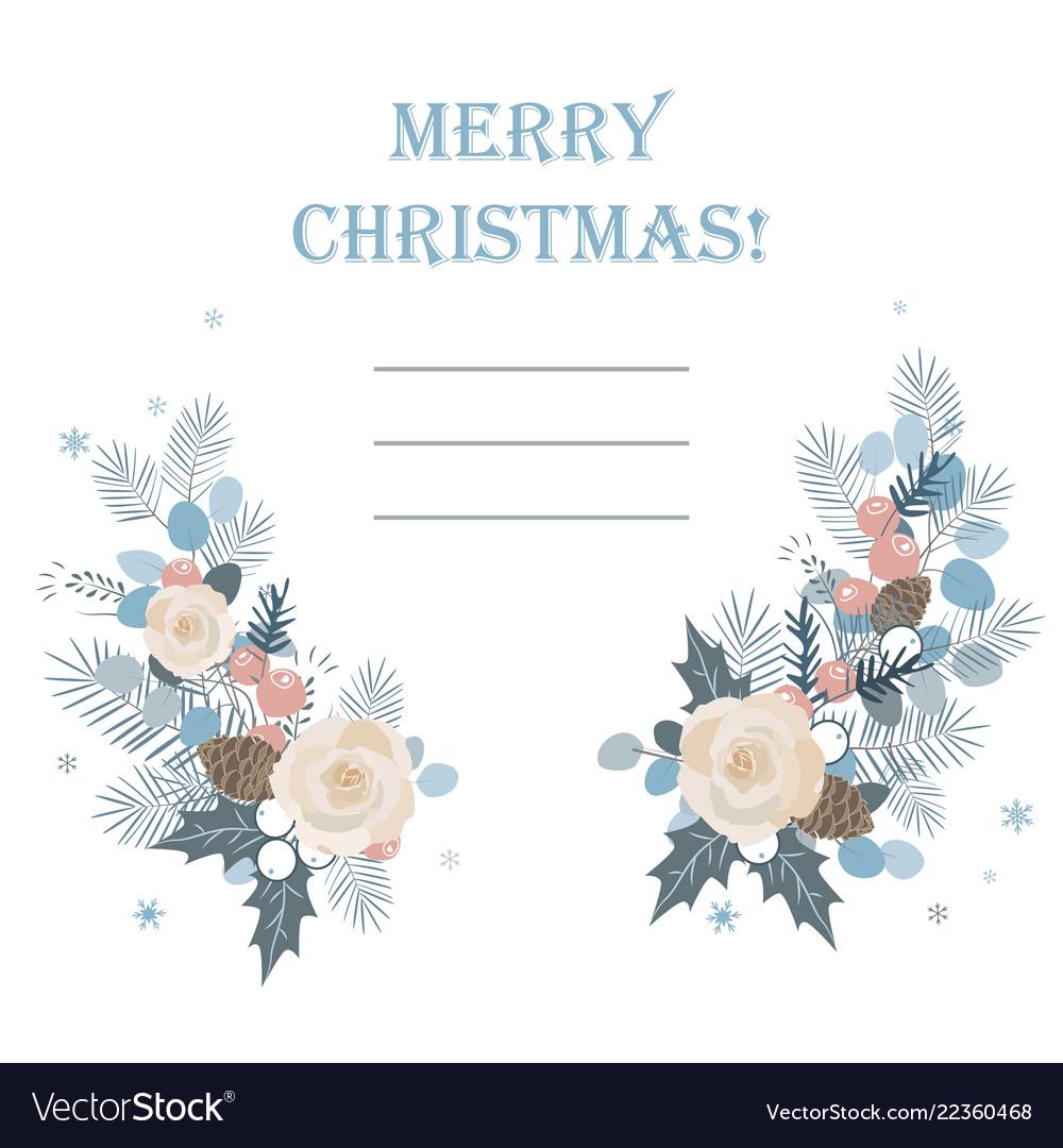 Christmas background christmas frame made of fir