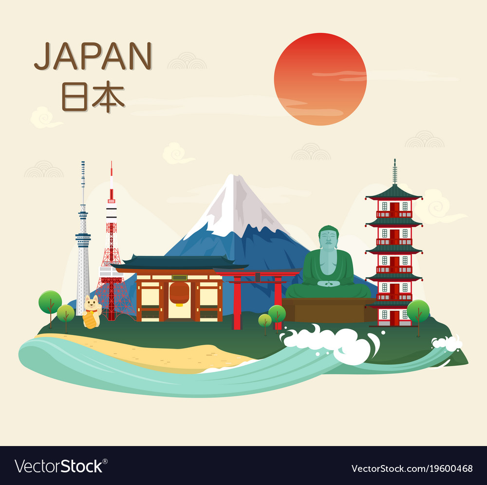 Japanese famous landmarks and tourist attractions
