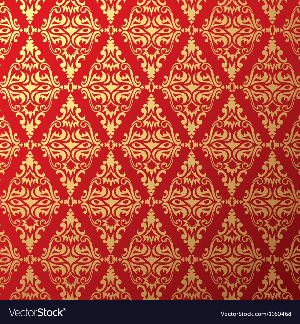 Old Wallpaper Background 03 Vector Image