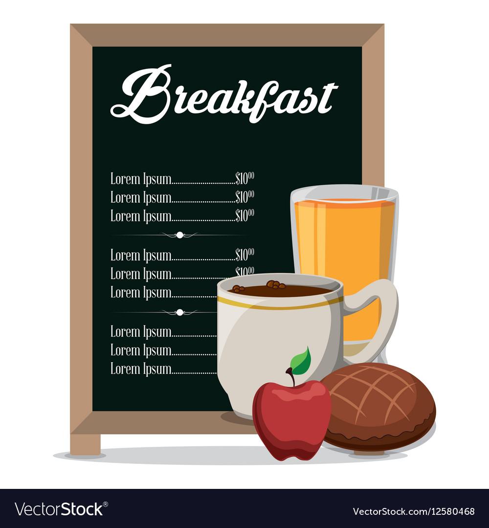 Restaurant Breakfast Menu Healthy Meal