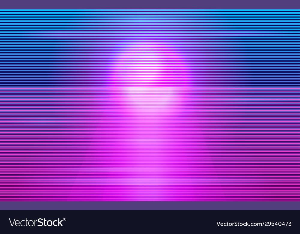 Cyberpunk futuristic design background