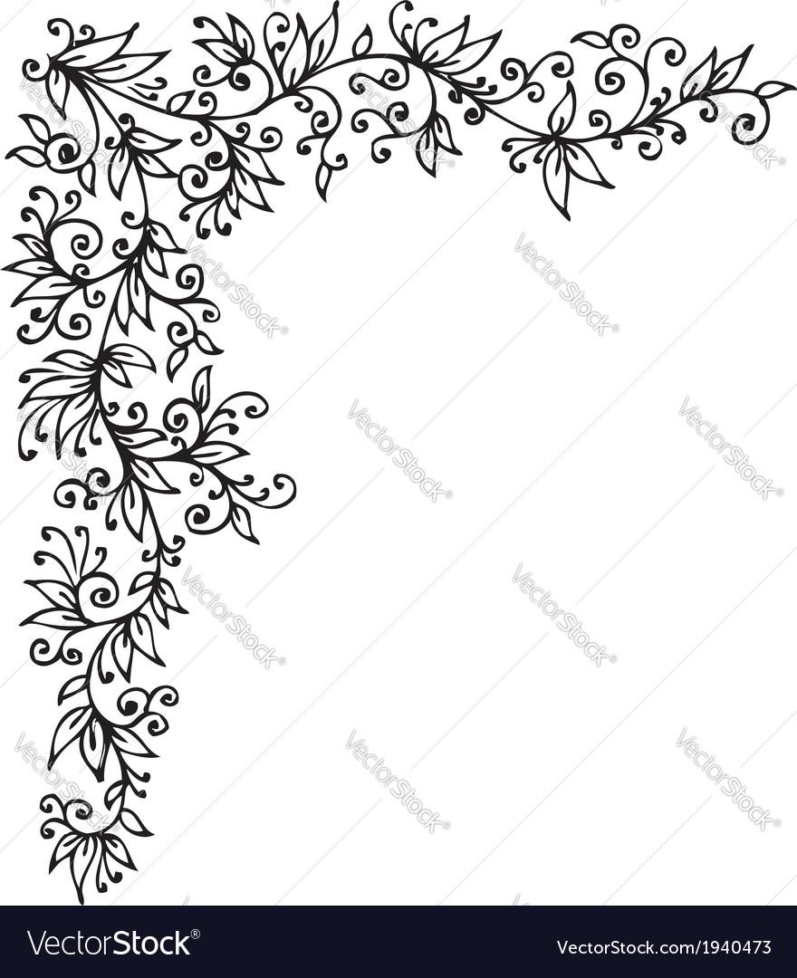 Floral vignette CCCLI