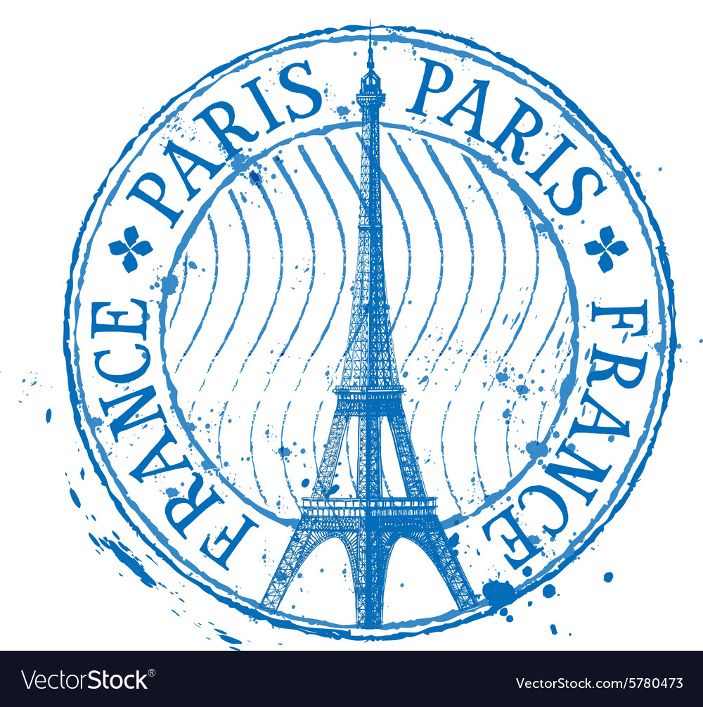 Paris logo design template Eiffel Tower