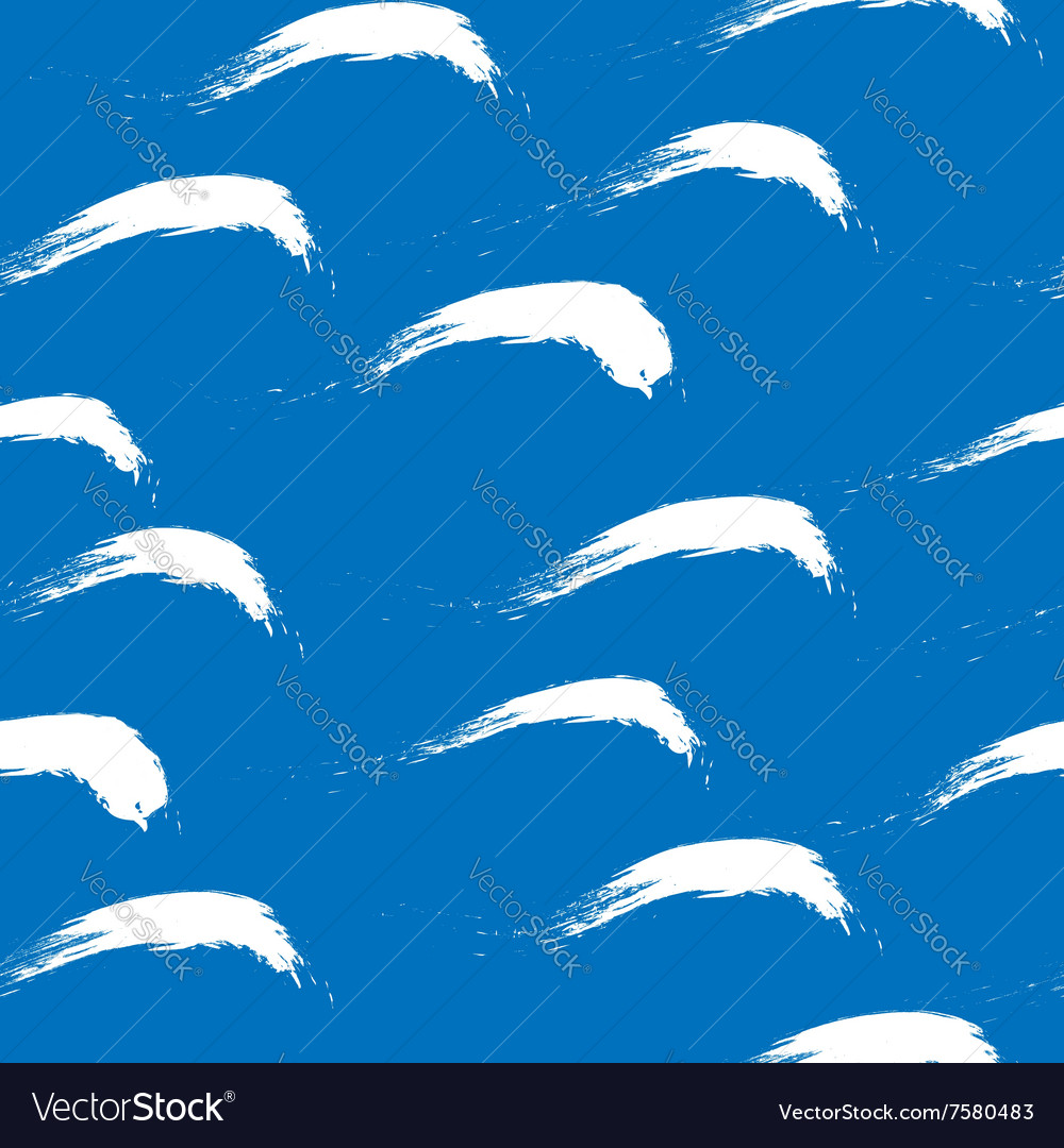 Cartoon water seamless pattern 1