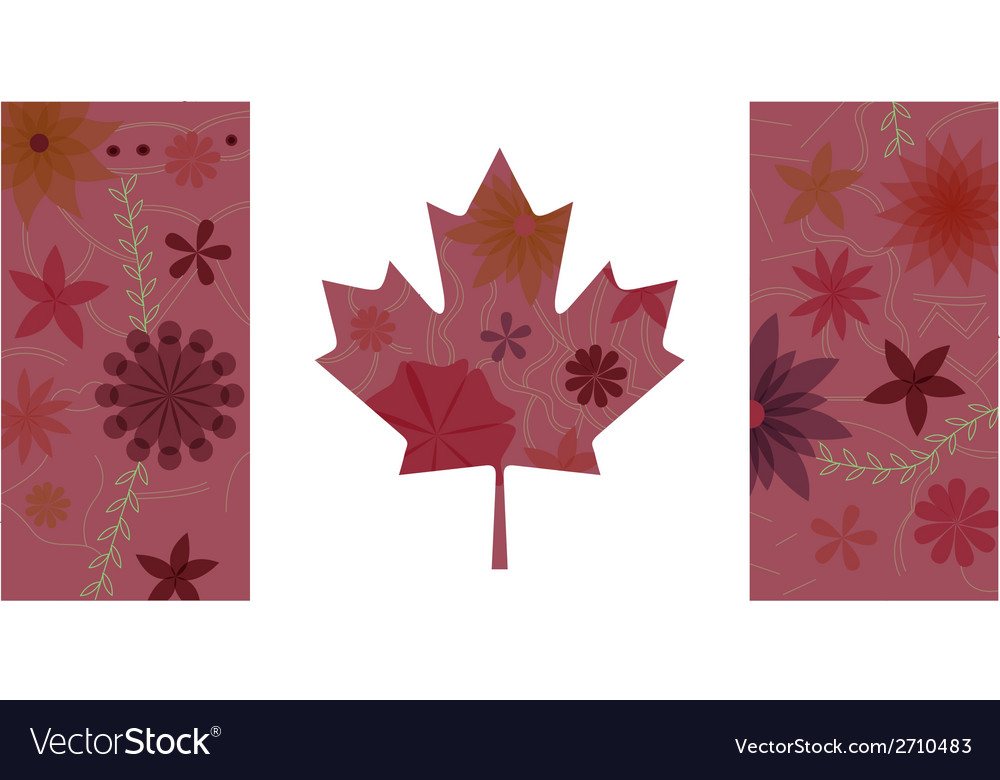 Vintage Canada flag 3