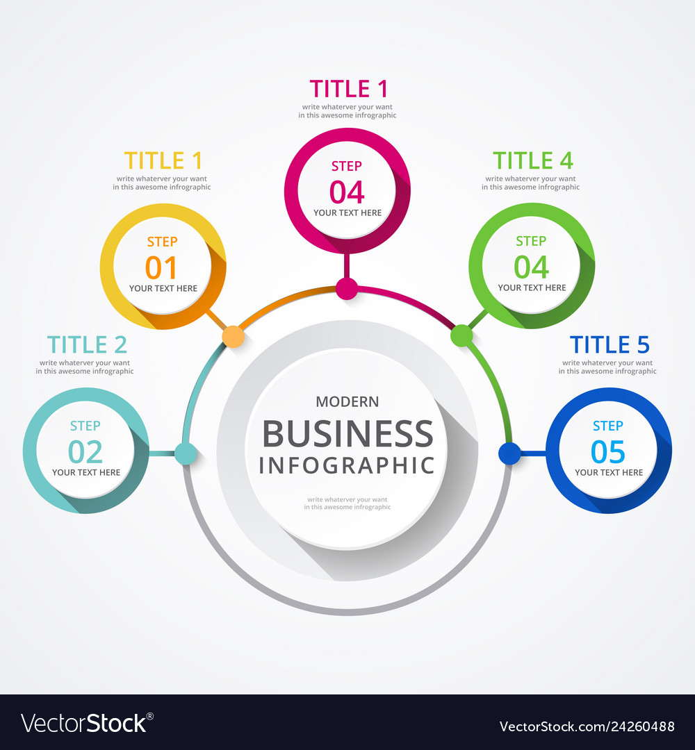 Business info graphics