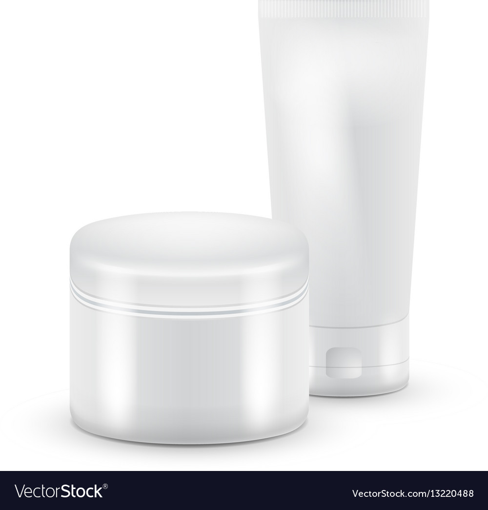 Tube cosmetic tube of vector image