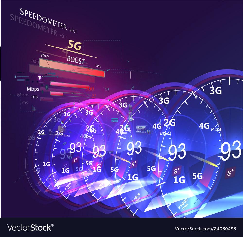 High speed mobile internet futuristic internet