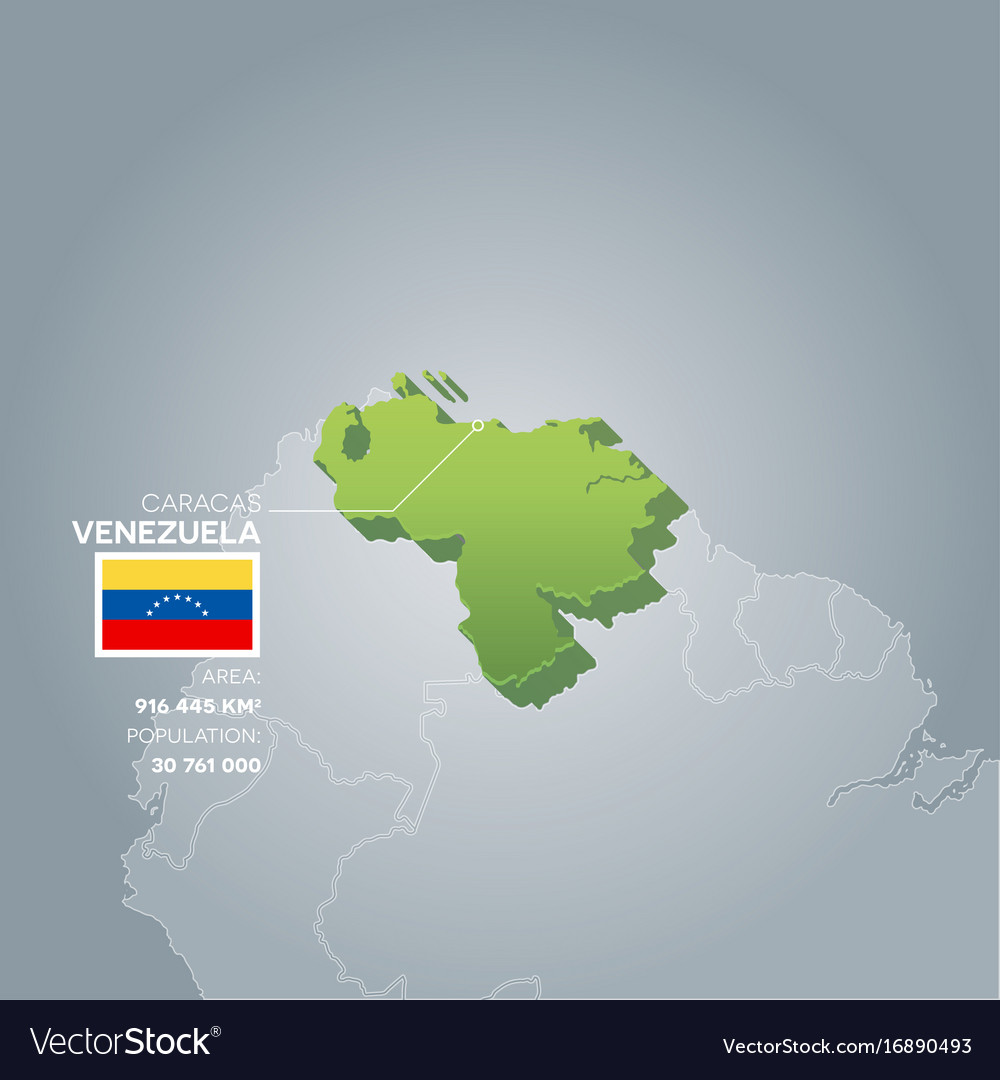 Venezuela information map