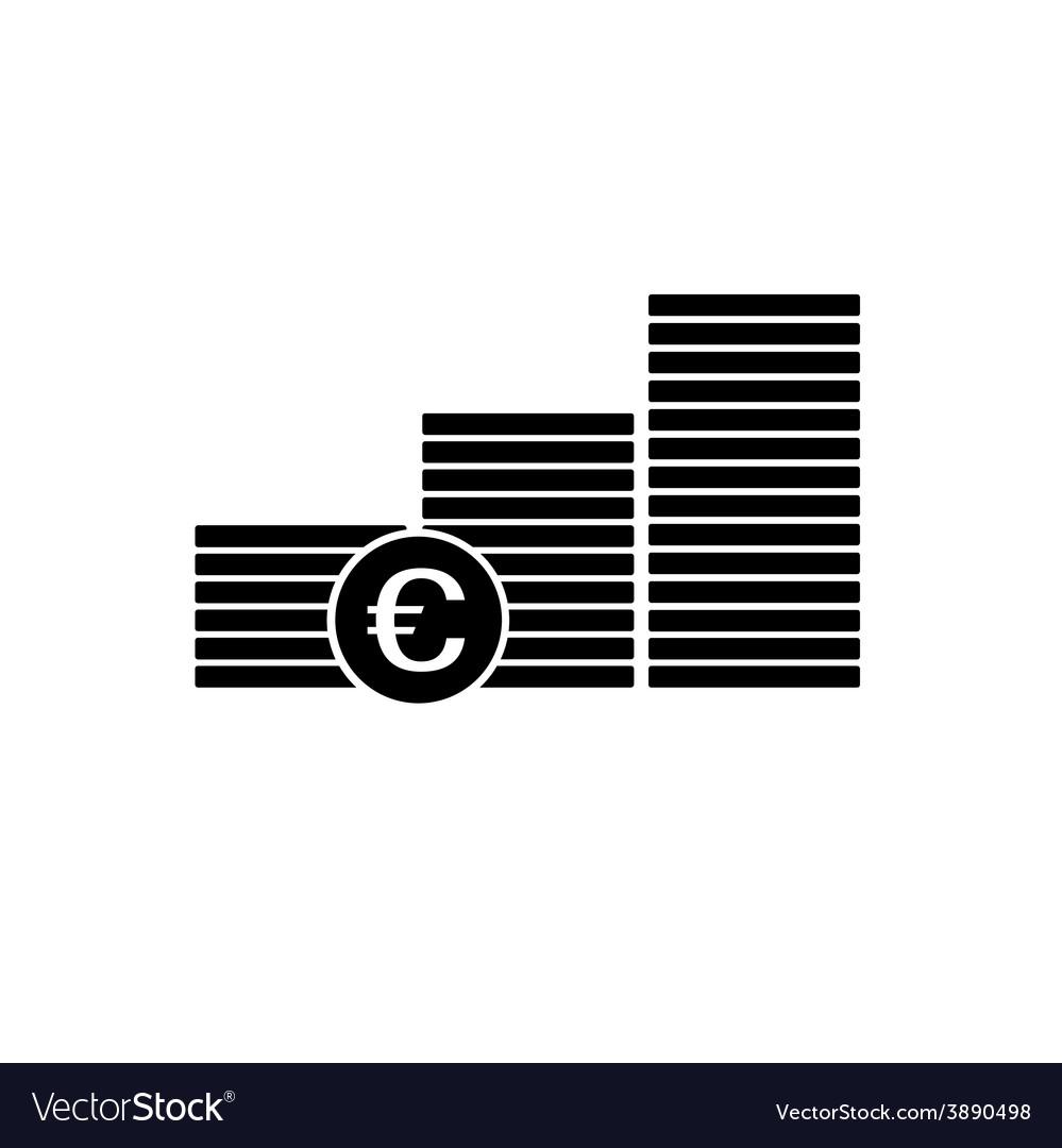 Finance money euro icon
