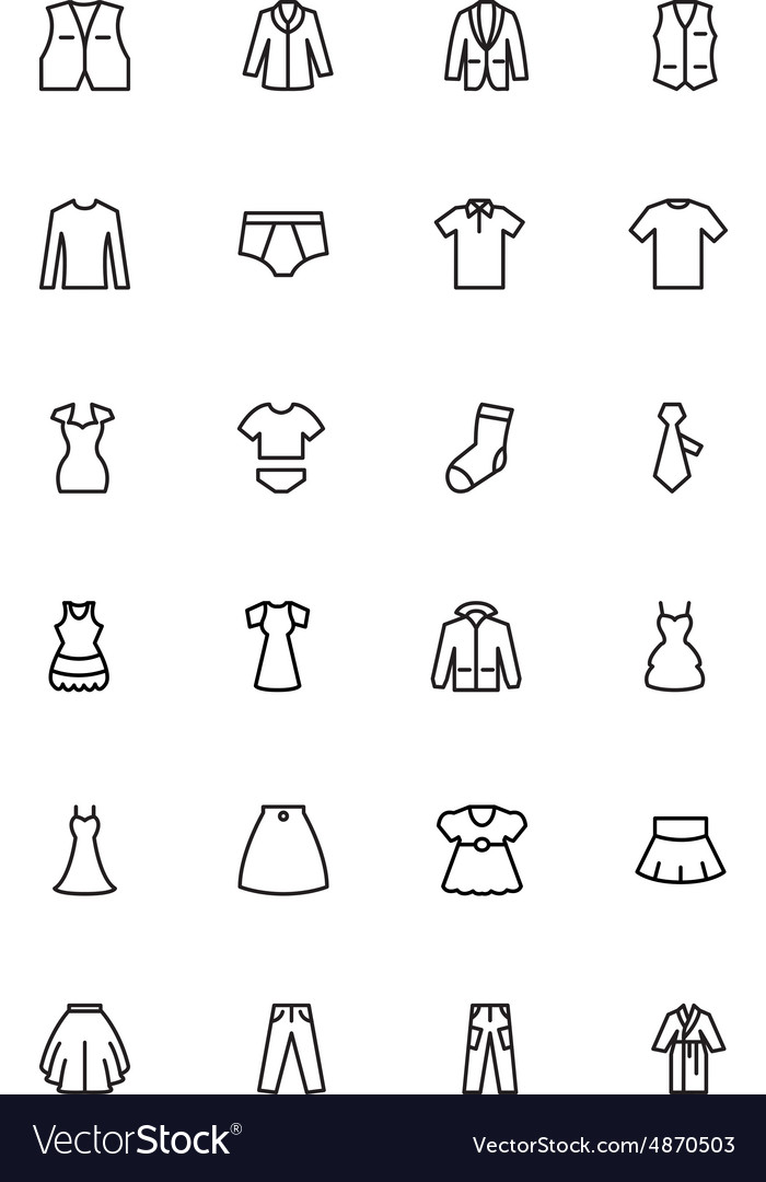 Clothes Line Icons 2