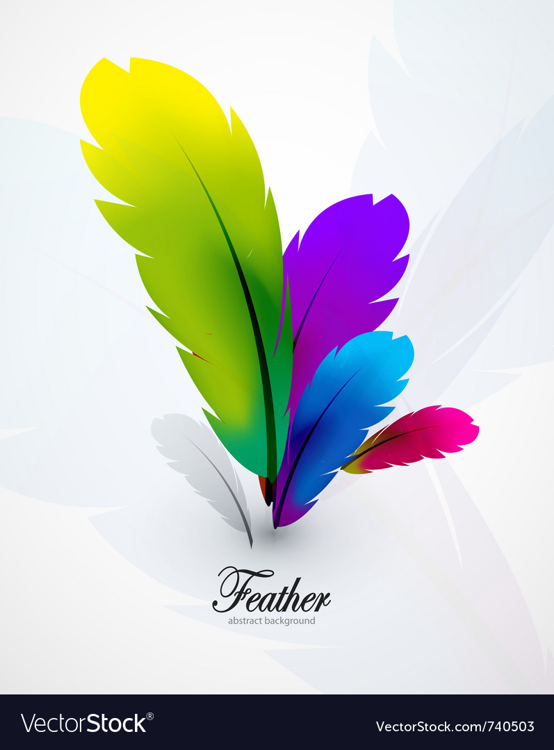 Abstract Feathers #1