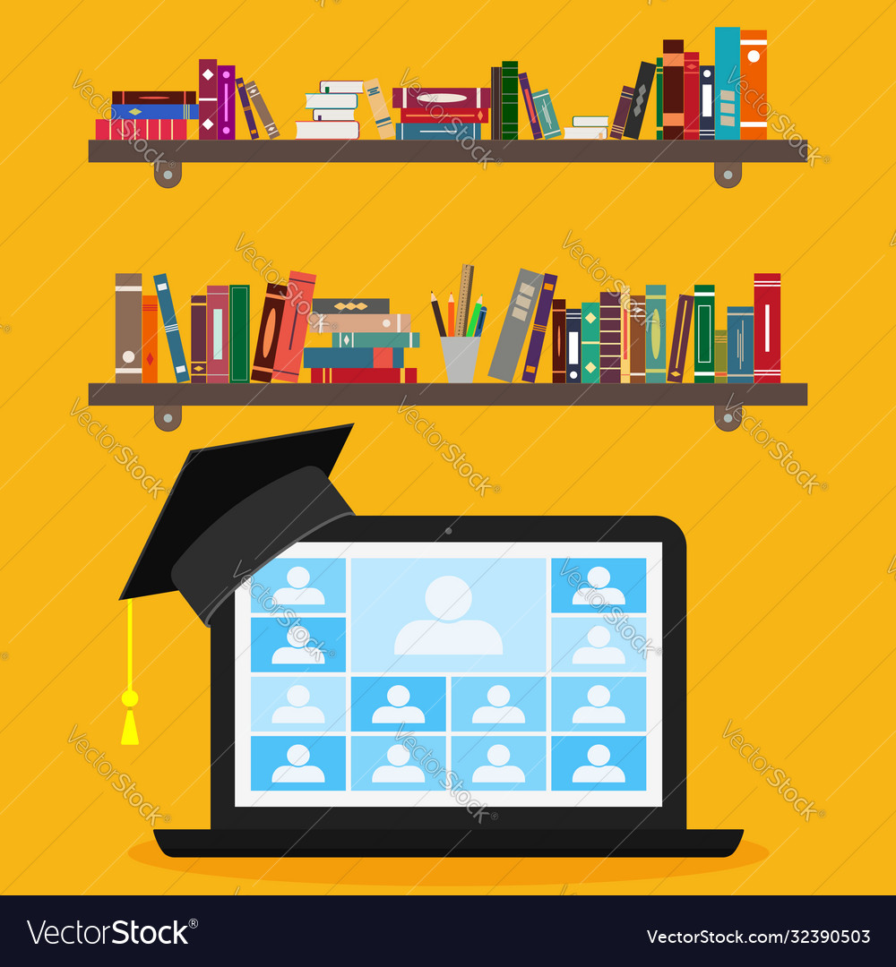 Zoom teleconference online class college team on