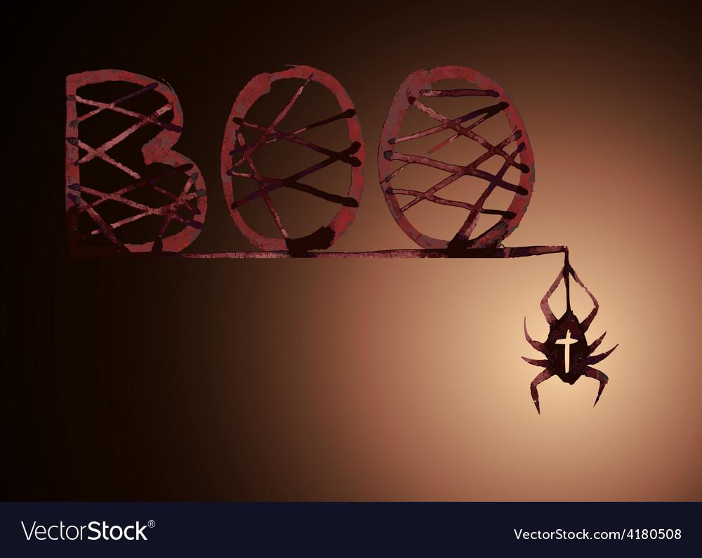 Boo spider
