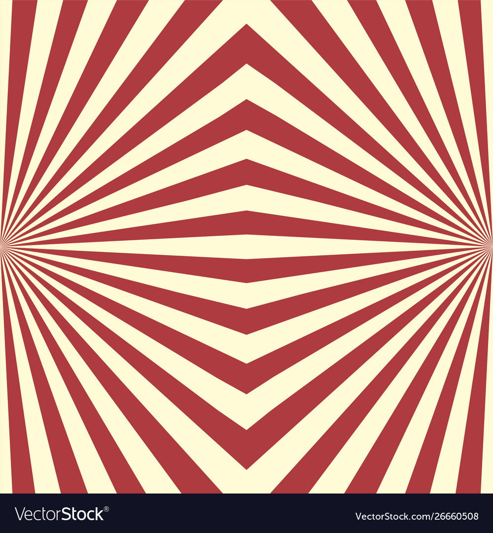 Seamless geometric striped red pattern decorative