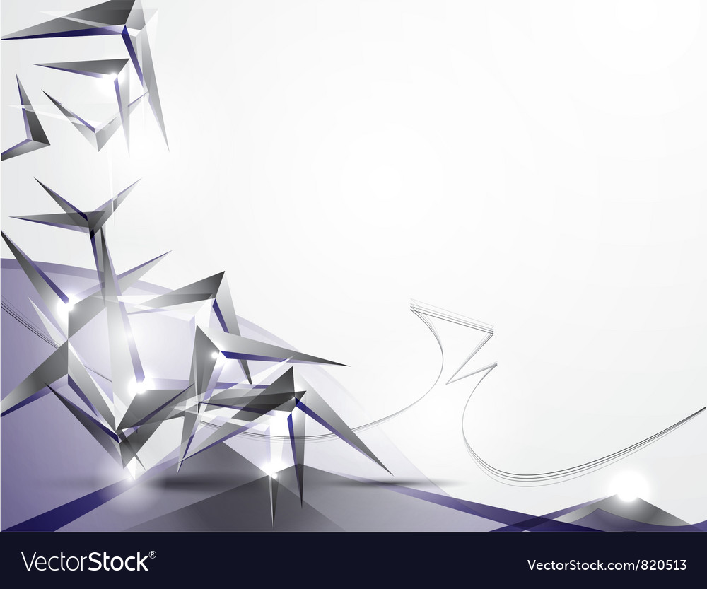 Abstract background with volume figures