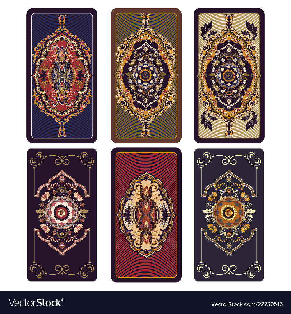 For tarot and playing cards