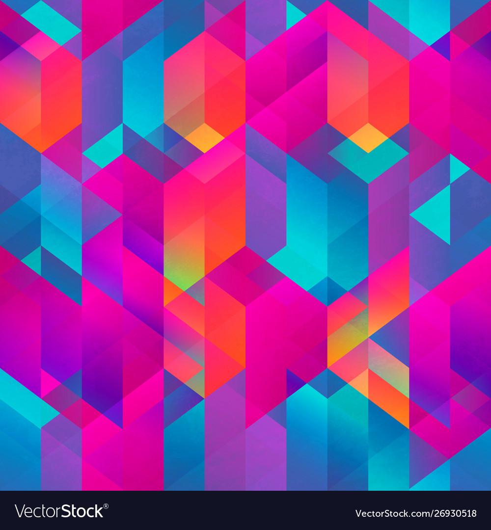 Bright mosaic pattern
