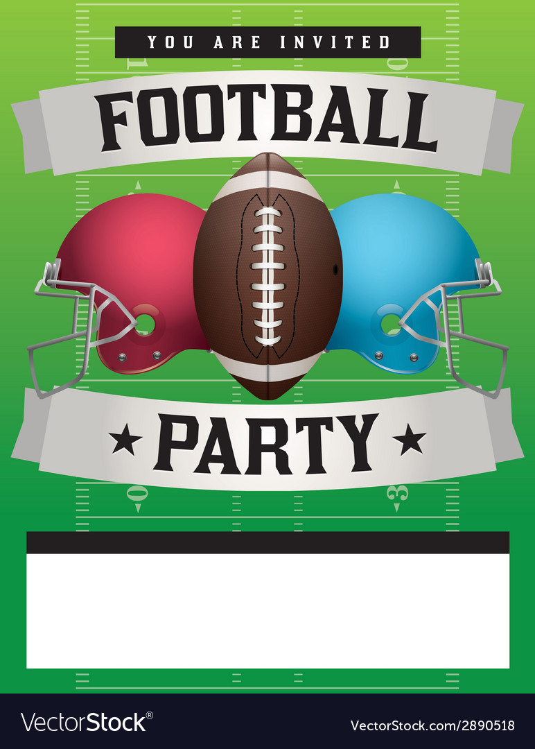 Football Party Template