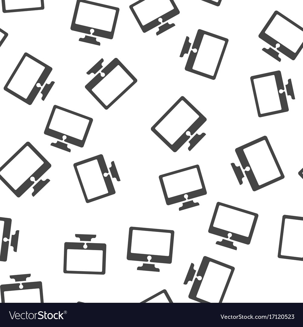 Monitor seamless pattern