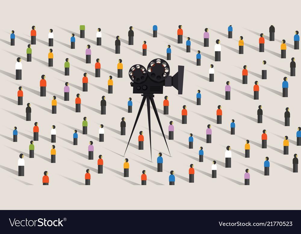 Video camera online social