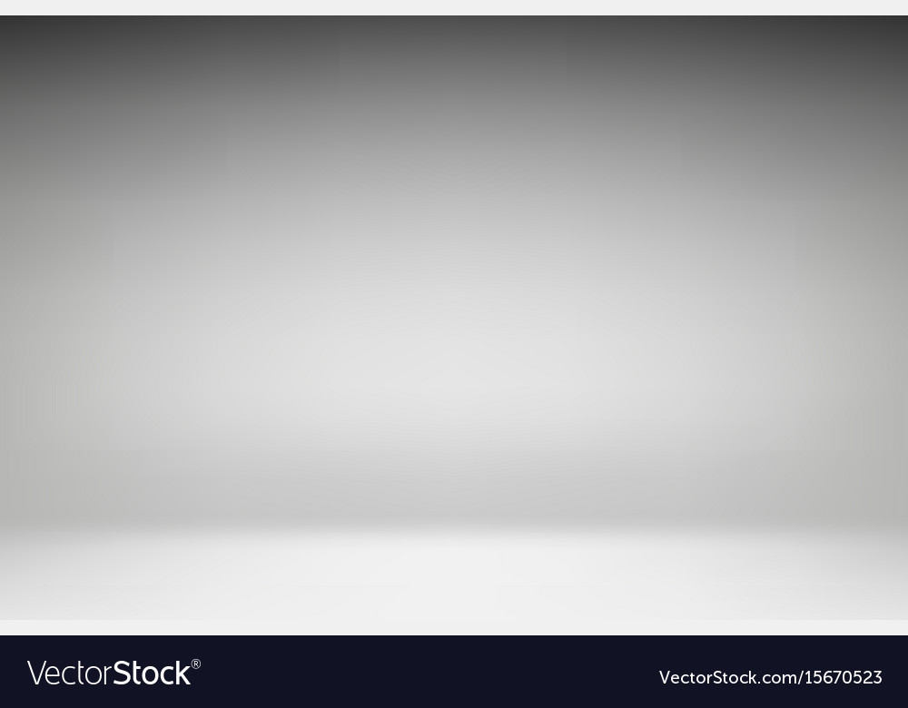 White studio background vector image
