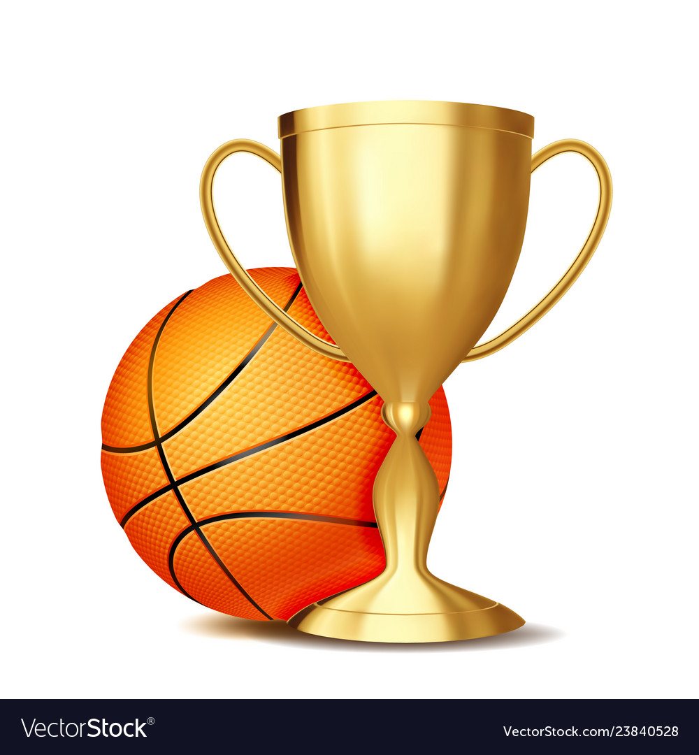 Basketball award basketball ball golden