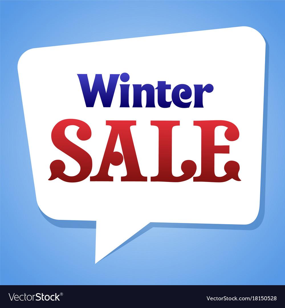 Sale sticker template vector image
