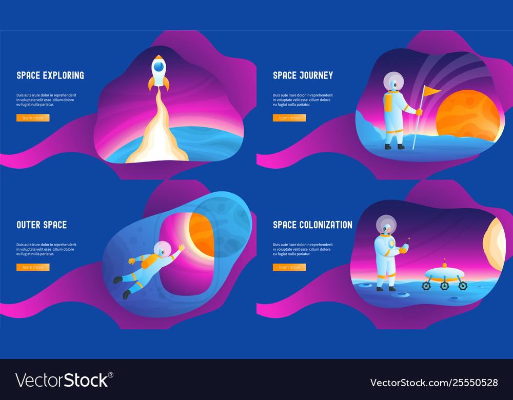 Space journey concepts