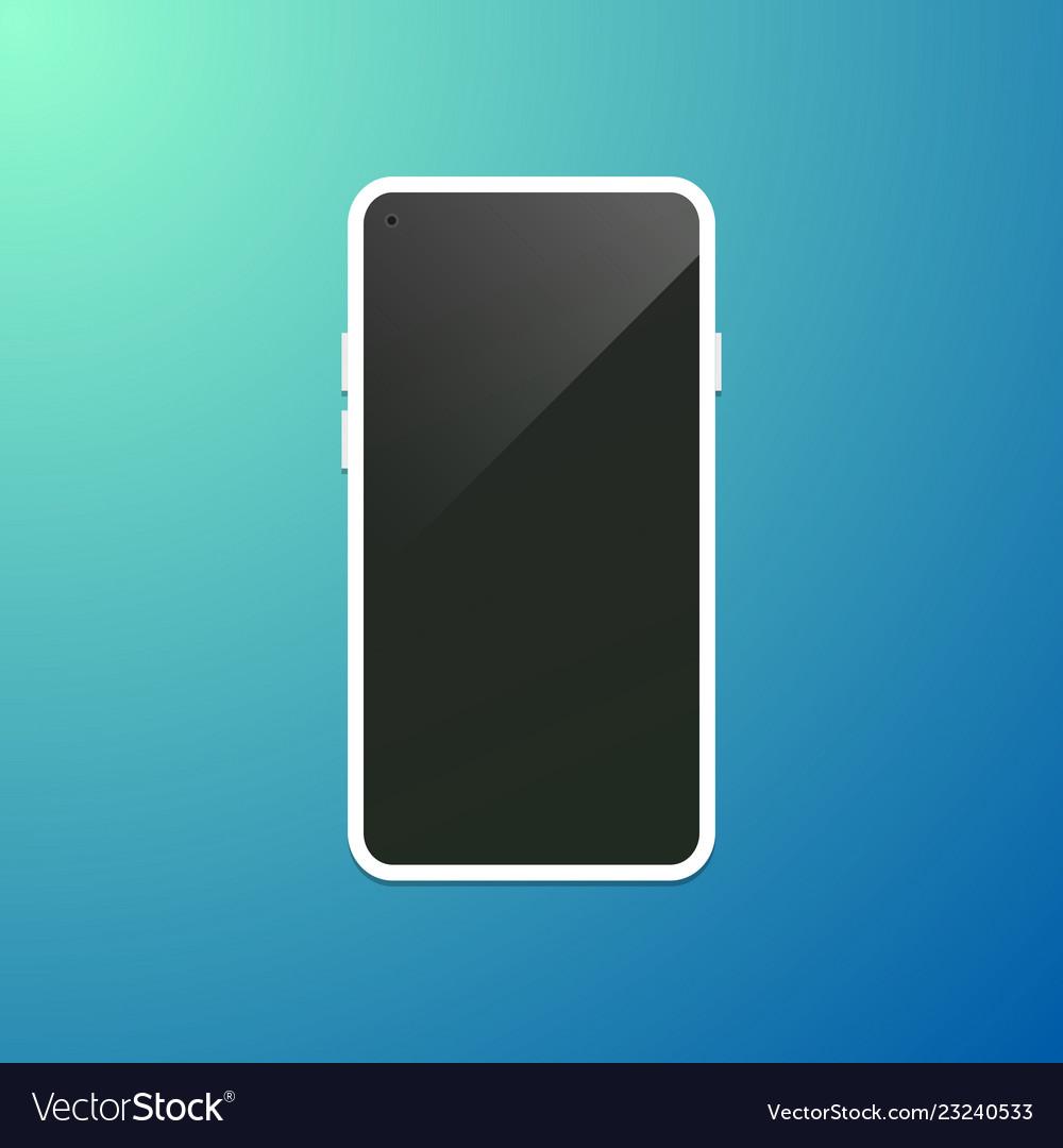 Modern smartphone concept