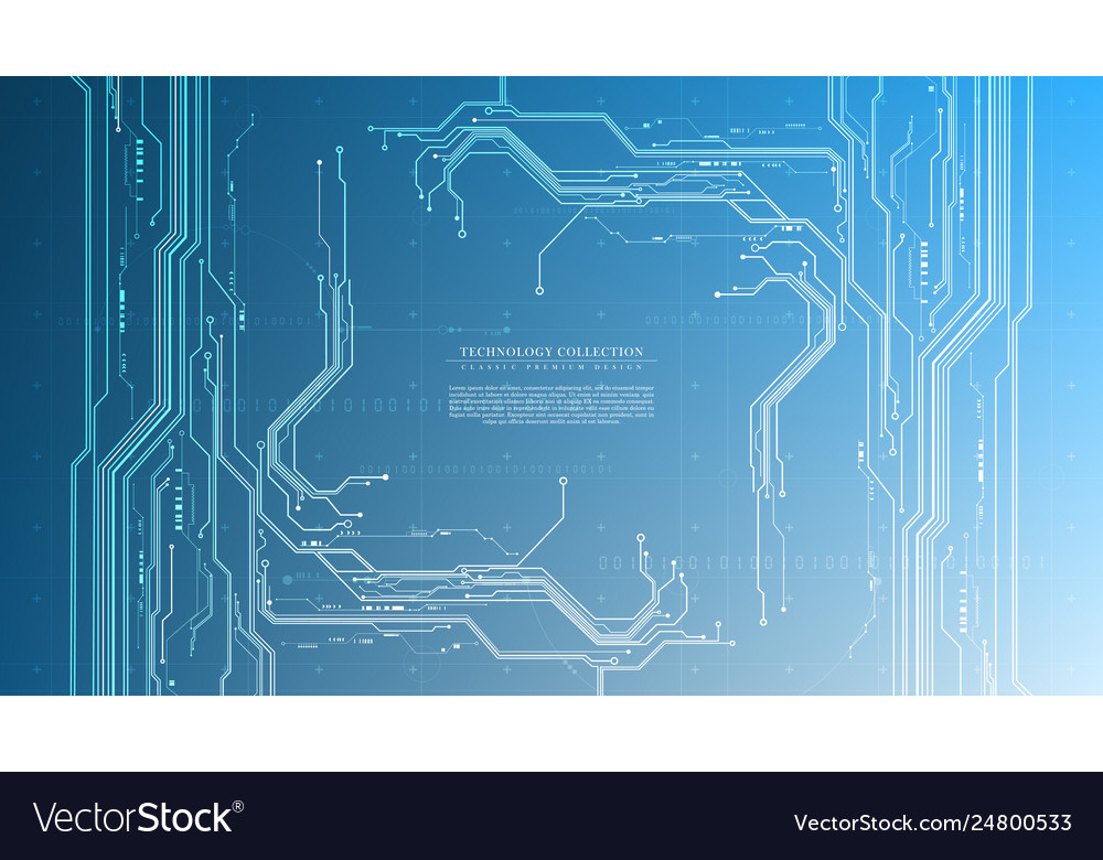 Technology futuristic abstract system cyberspace