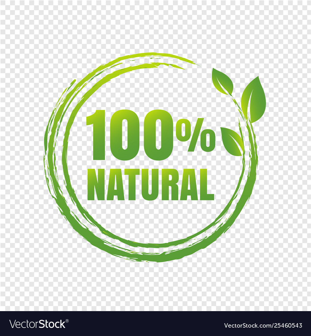 100 natural product transparent background