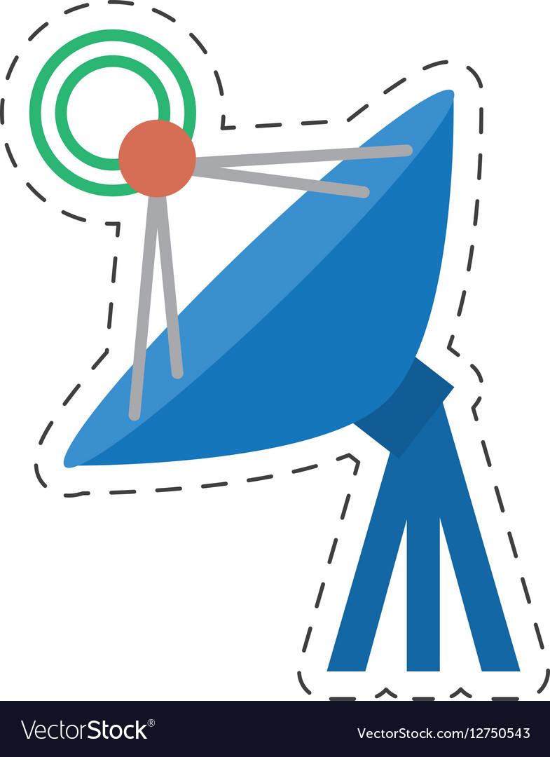 Antenna dish radar technology internet