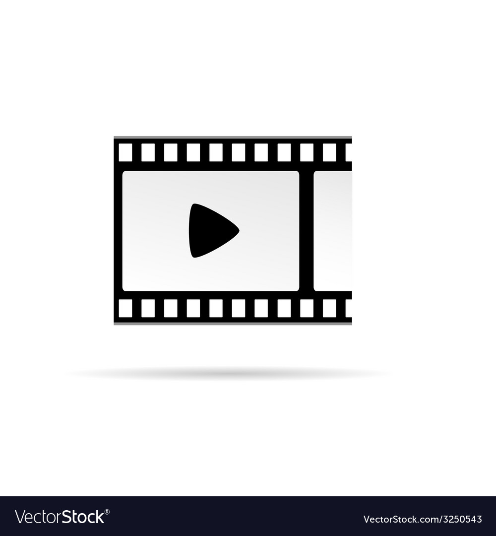 Play movie symbol