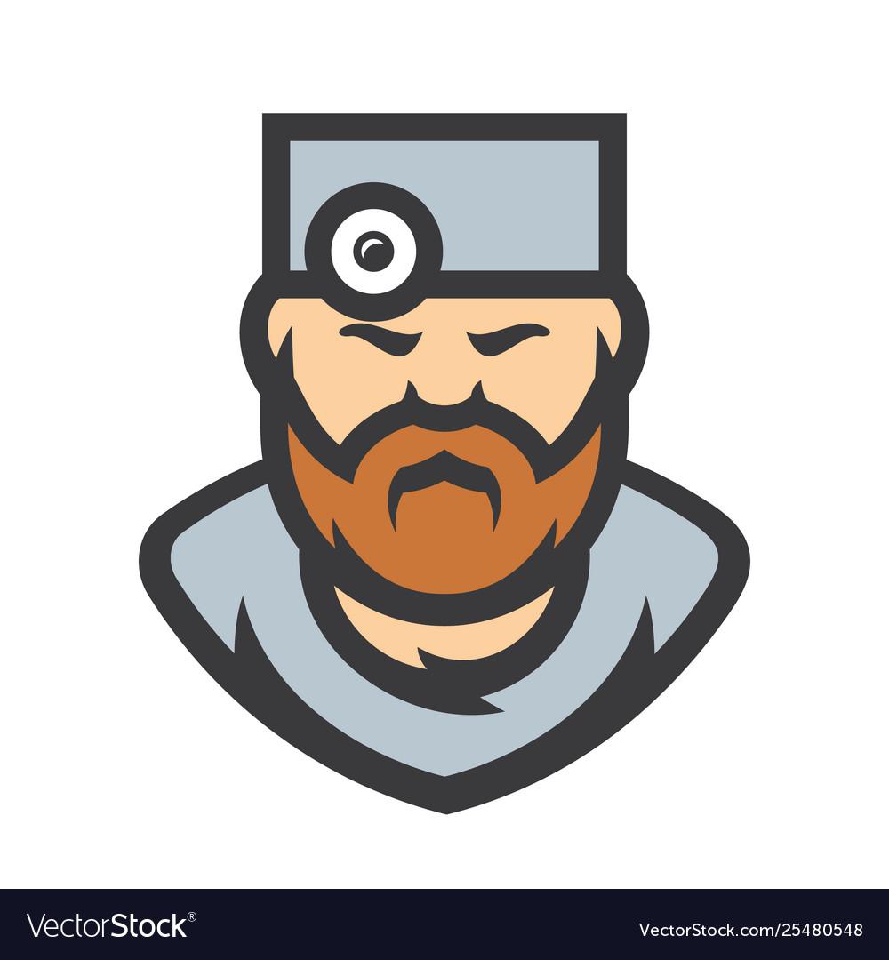 Doctor Surgeon Cartoon Royalty Free Vector Image