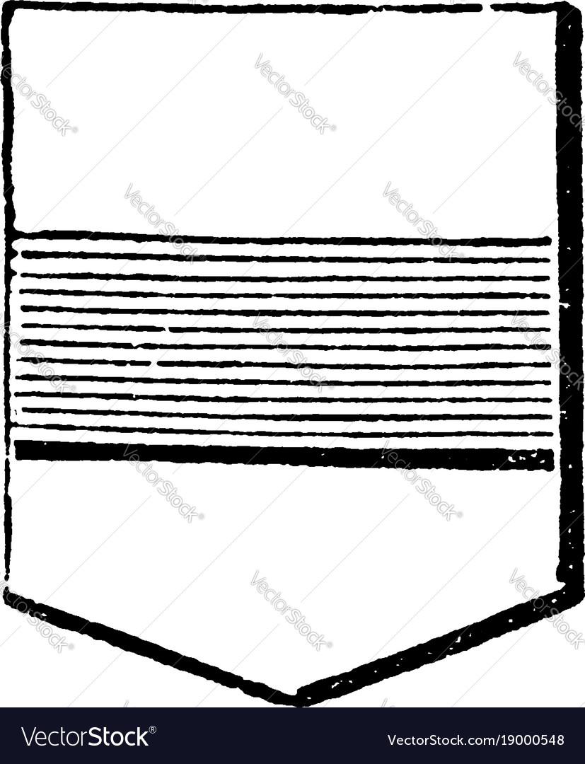 Shield showing fess may be more than one bar in