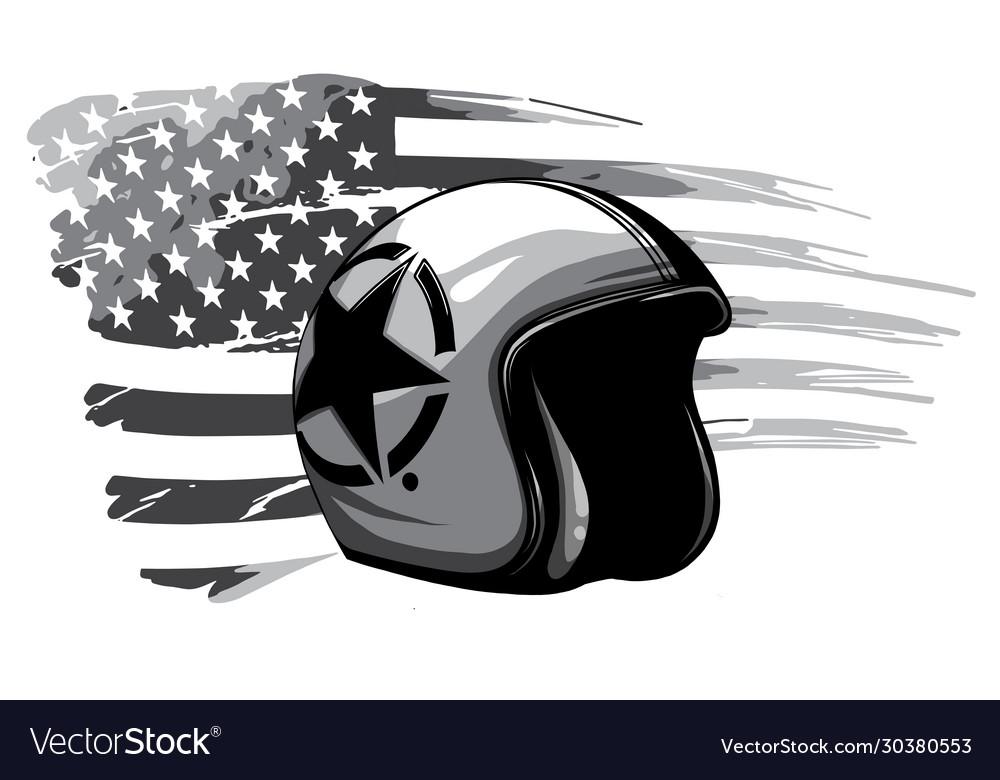 Monochromatic america veteran day memorial day