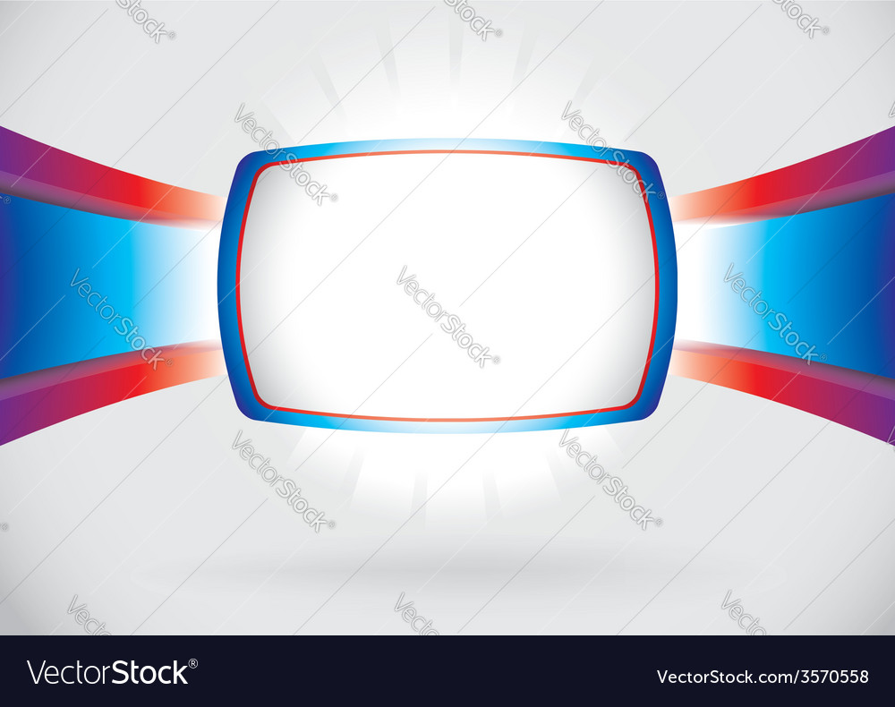 Abstract screen frame