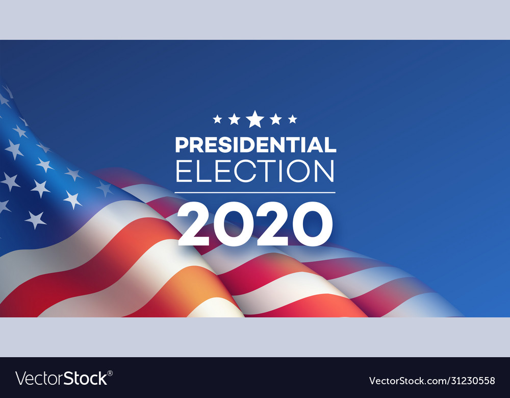 American presidential election 2020 background