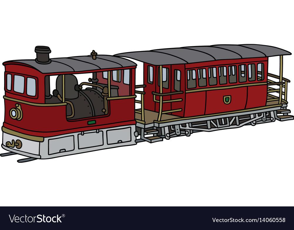 Historical steam tramway